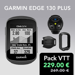 Pack VTT Garmin Edge 130 Plus
