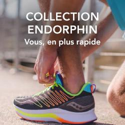 Découvrez la collection Saucony Endorphin