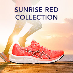 Découvrez Asics Sunrise Red Collection
