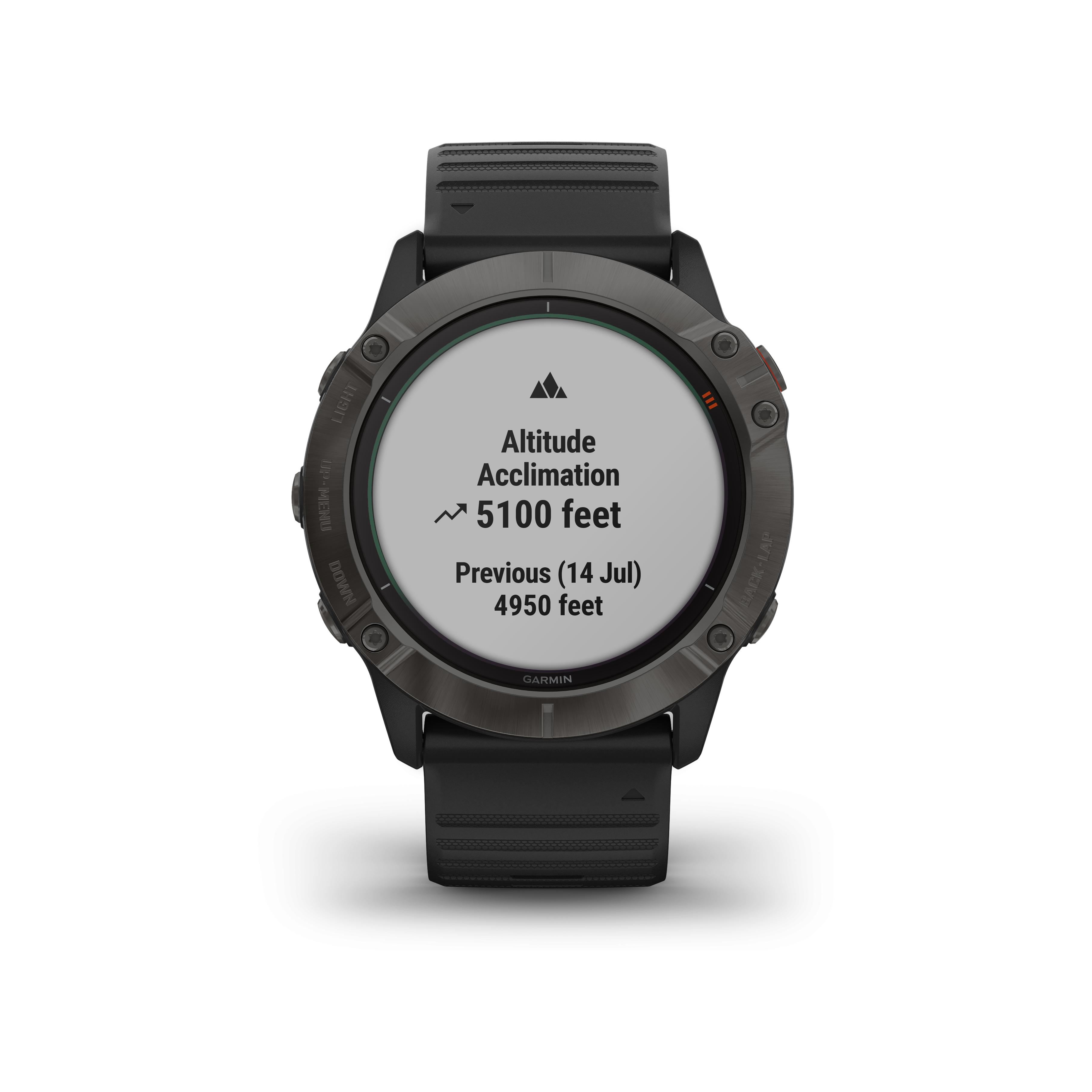 Photo de garmin-fenix-6-pro-solar-titane