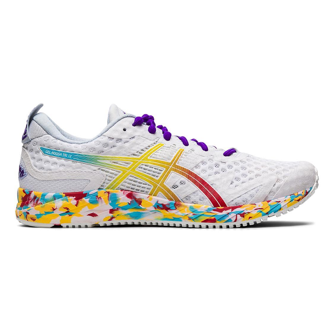 aliexpress elegant shoes wide varieties Asics Gel-Noosa Tri 12 - White - Woman   LEPAPE