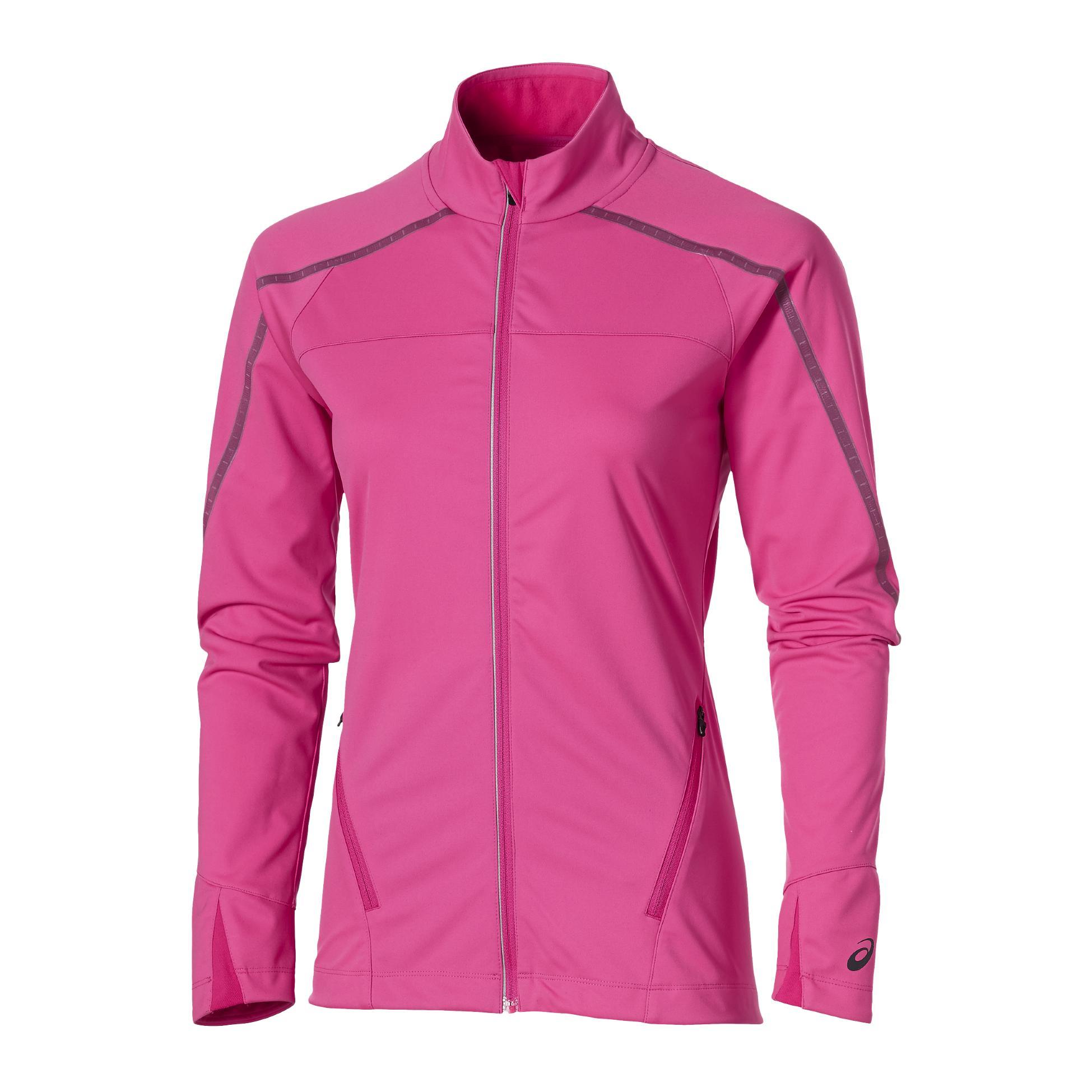 Veste running asics femme rose
