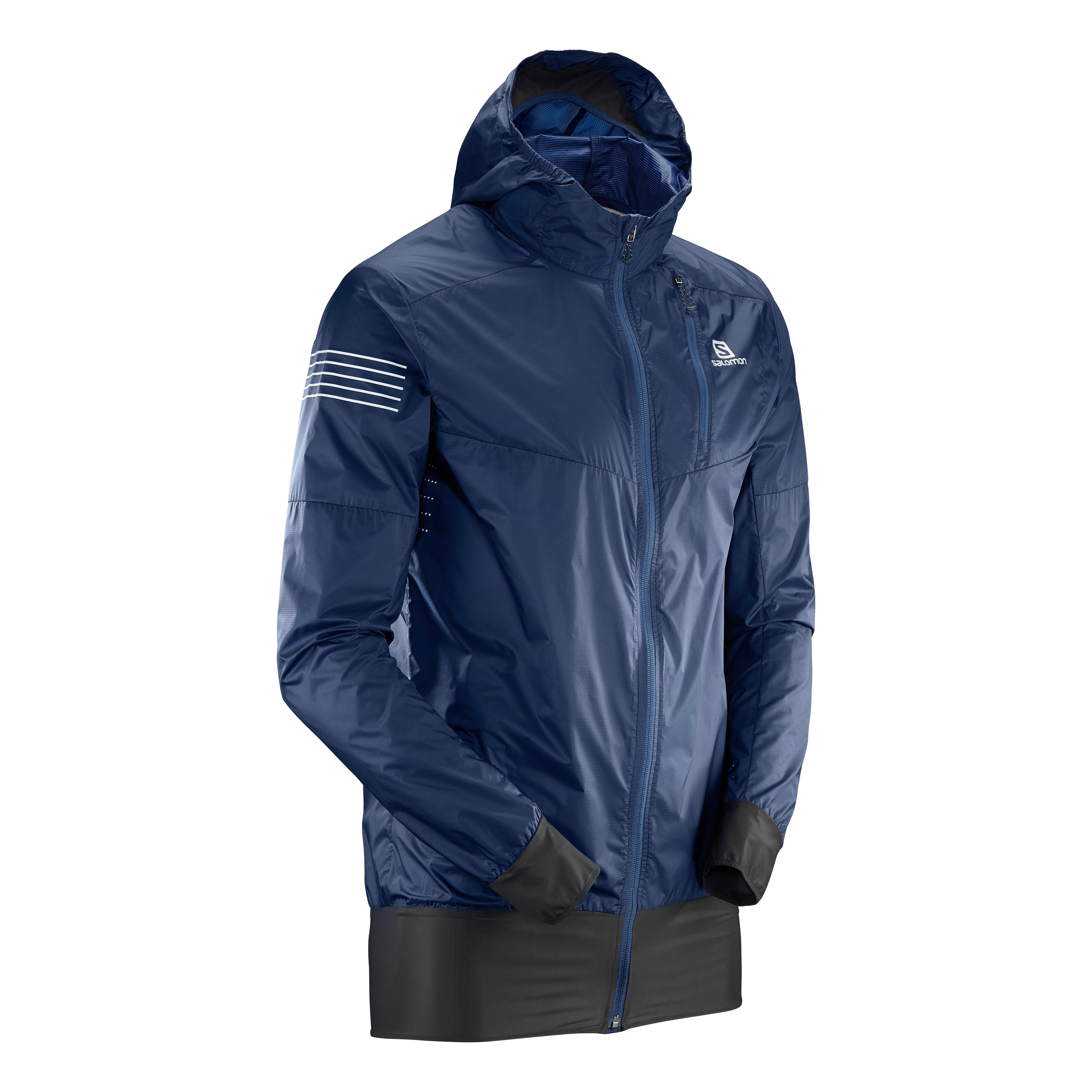 Salomon Fast Wing Hybrid Jacket Bleu Homme | LEPAPE