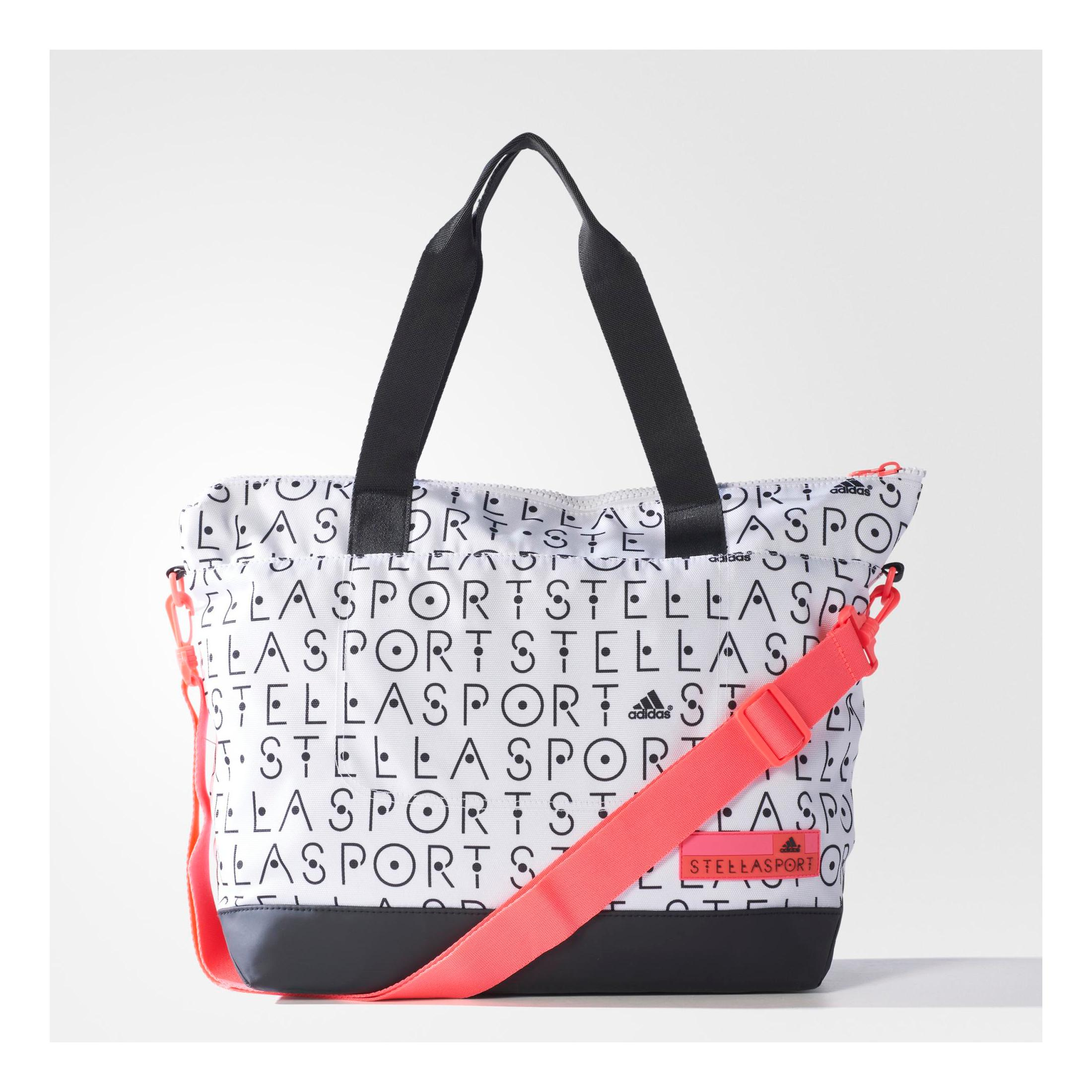 sac de sport tote bag imprim stellapsort adidas blanc et noir d s 36 00. Black Bedroom Furniture Sets. Home Design Ideas