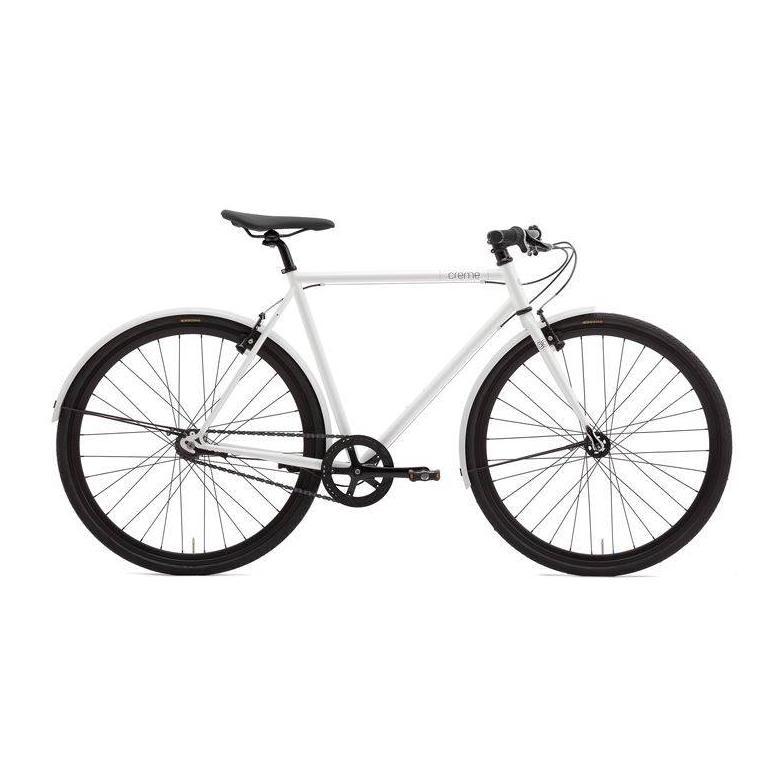 Creme Cycles Tempo Solo white 3s