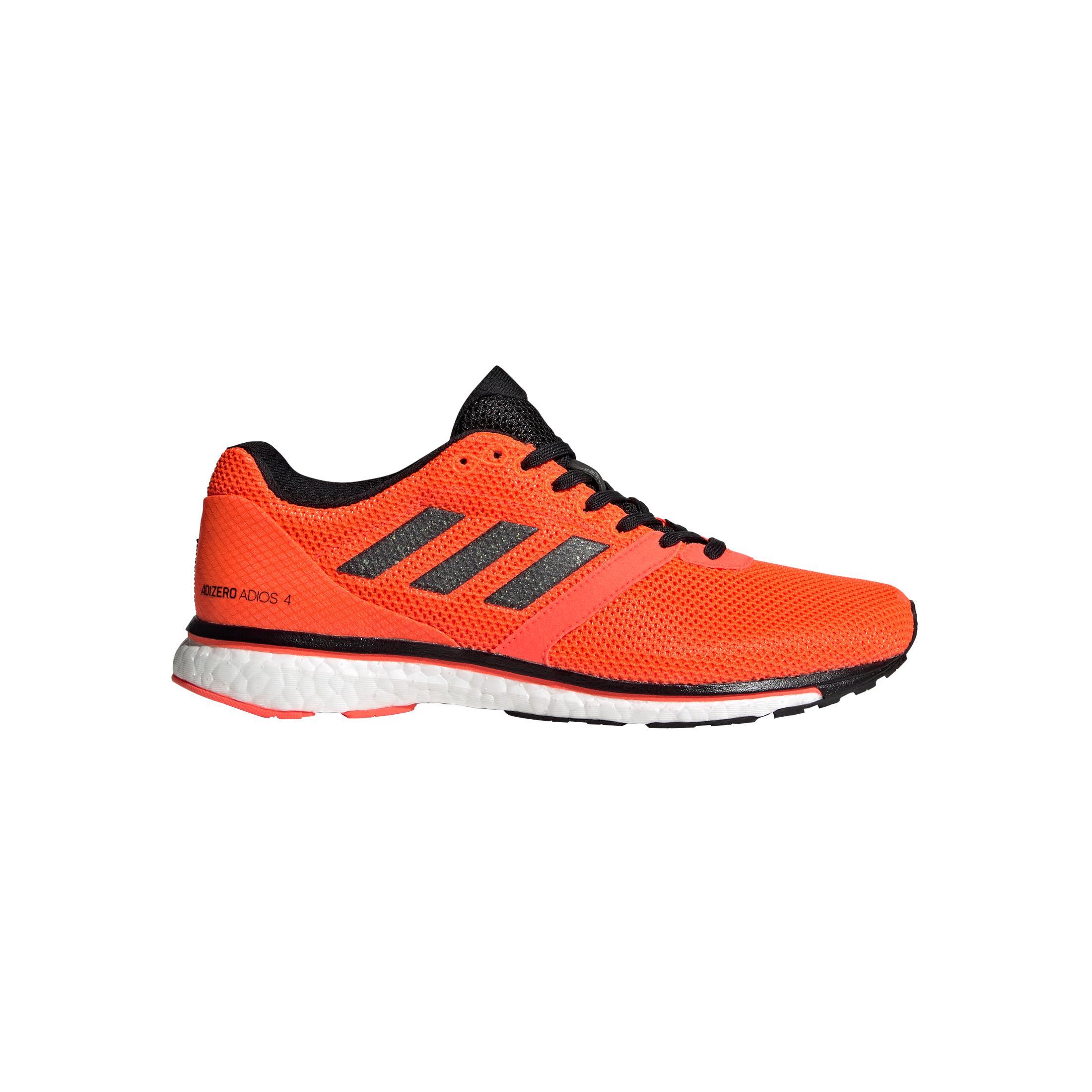 adidas adizero Adios 4 Orange Femme | LEPAPE