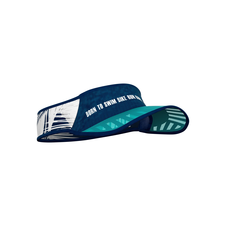 good new release shoes for cheap Compressport Spiderweb Ultralight Visor - Kona 2019 - Bleu - Mixte | LEPAPE