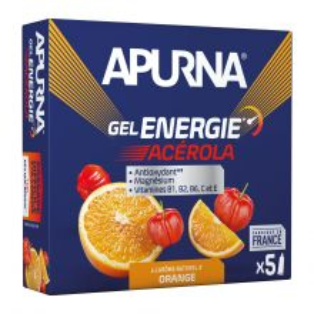 Gel Energie Passage Difficile Acérola Orange - Etui 5 x 35 g [0]