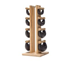 Swing Bell Pack Complet (Tour Frene - Cuir Noir + 1, 2, 4, 6 kg) [0]