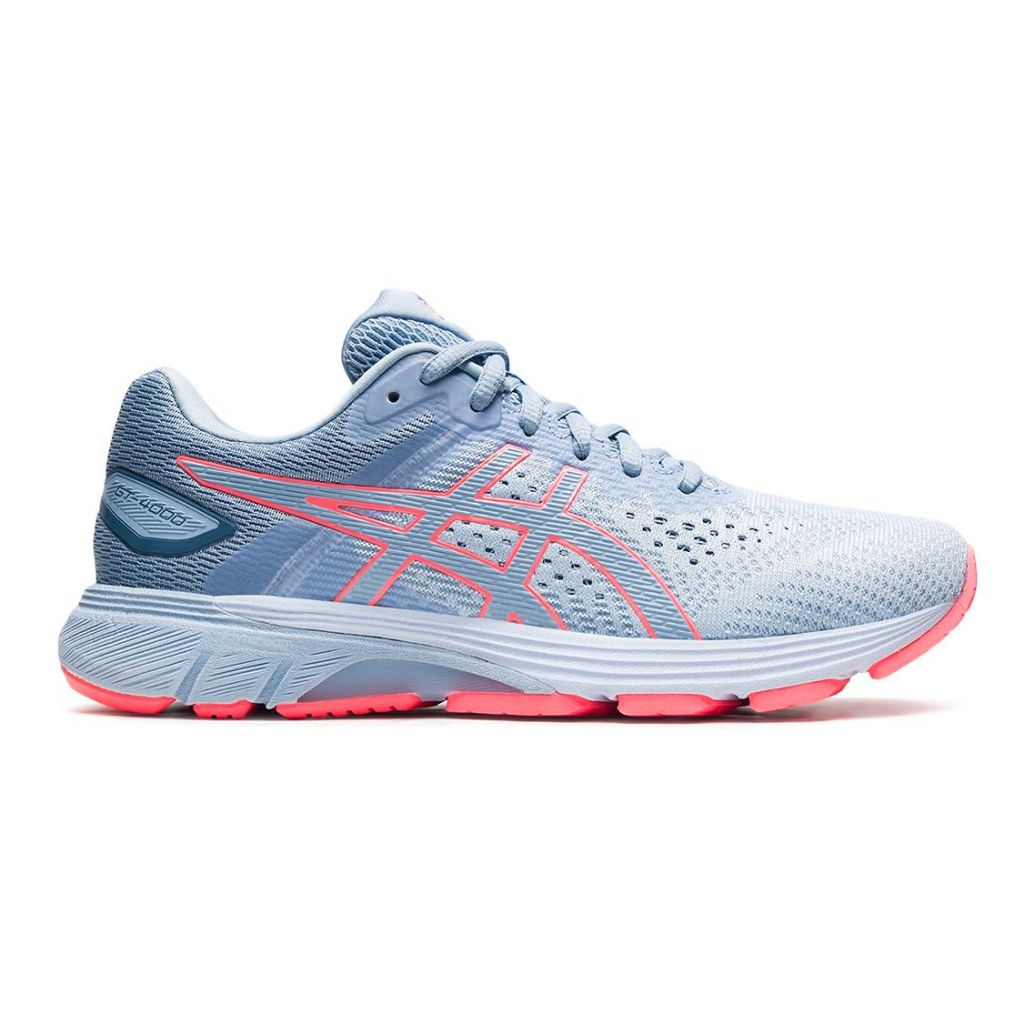 Gt-4000 2 asics sky blue and pink $ {fromprice} model woman