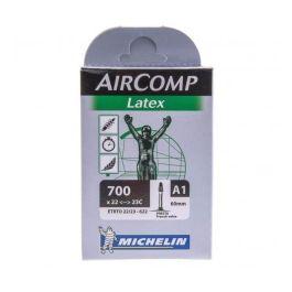 Chambre à air ROUTE A1 AIRCOMP LATEX 700x22/23 Valve Presta 42mm
