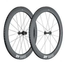 DT Swiss Paire de Roues ARC 1100 Dicut 62mm - Freinage Patins - Tubeless Ready - Corps Shimano 11s