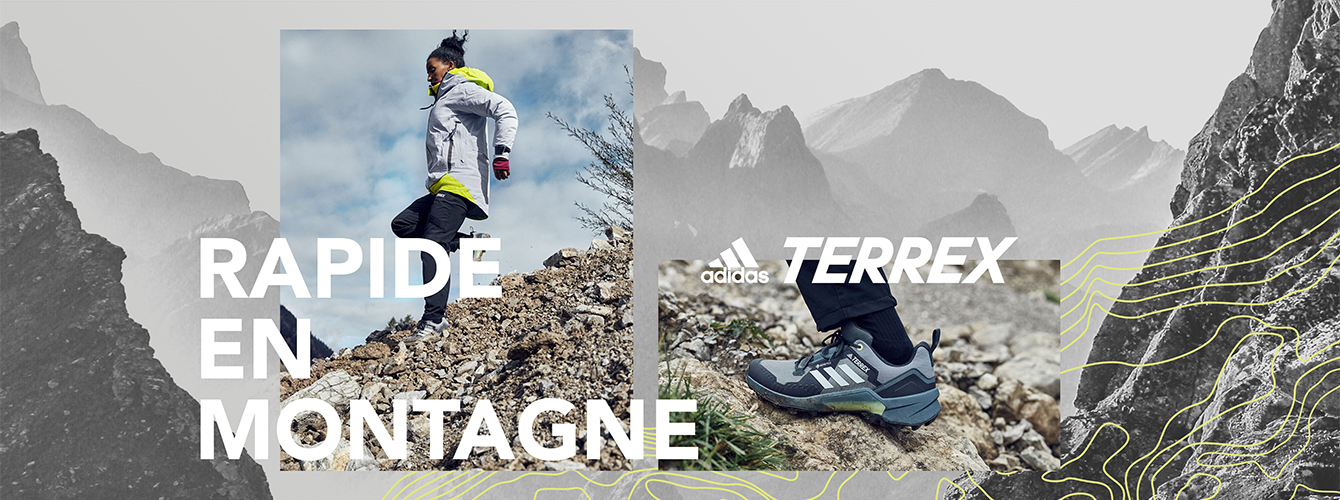 Adidas Terrex - Rapide en montagne