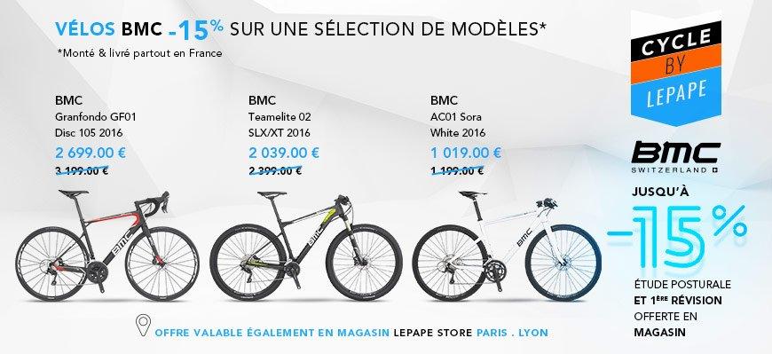 -15% sur certains modèles BMC