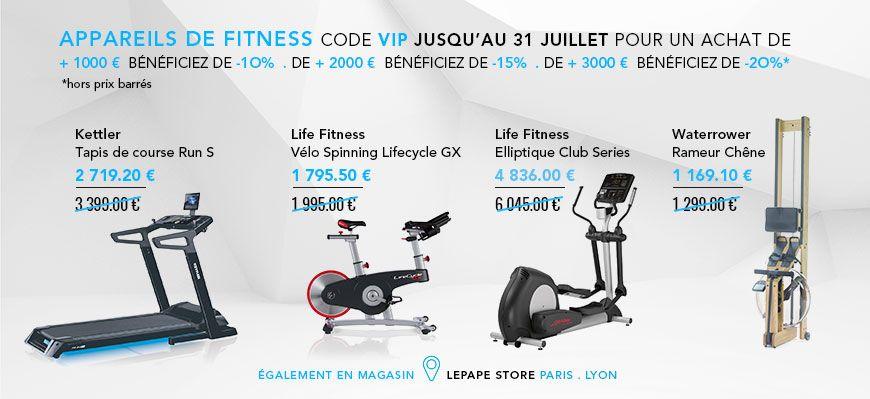 offre fitness VIP jusqu'à -20%