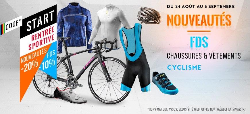 code start cyclisme