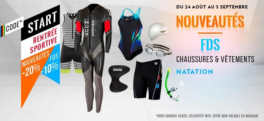 code start natation