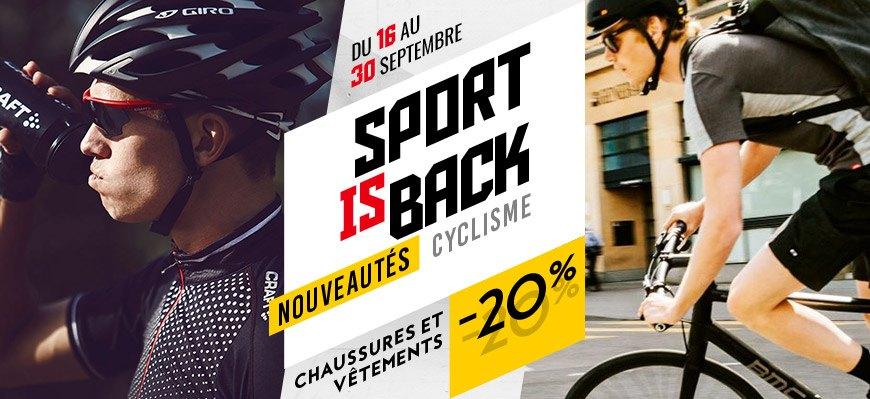 Nouveautés cyclisme à -20 %