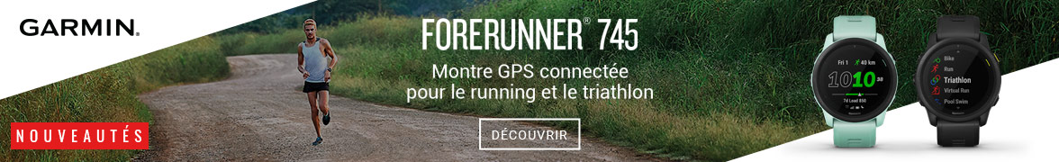 opération Garmin Forerunner 745