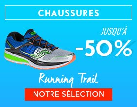 chaussures Running & trail jusqu'à -50%