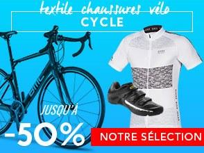 Cycle jusqu'à -50%