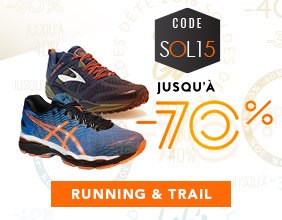 Soldes Running & trail