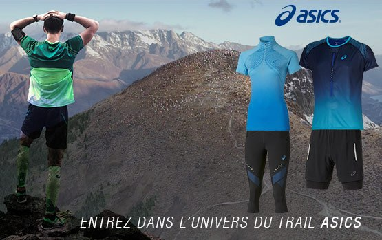Nouvelle collection Asics