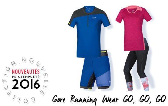 Gore Running Nouveautés 2016