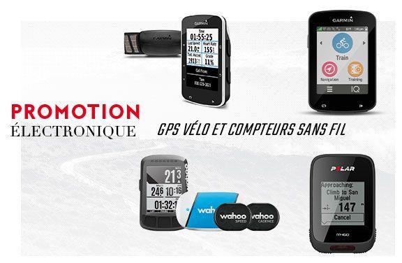 promo gps  & compteurs vélo