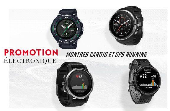 promo montres cardio gps