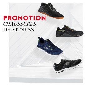 promo chaussures fitness