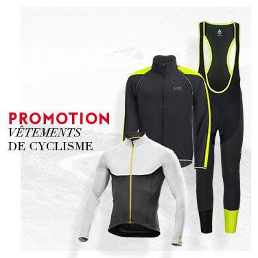 promo vêtement vélo
