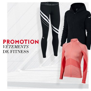 promo vêtements fitness