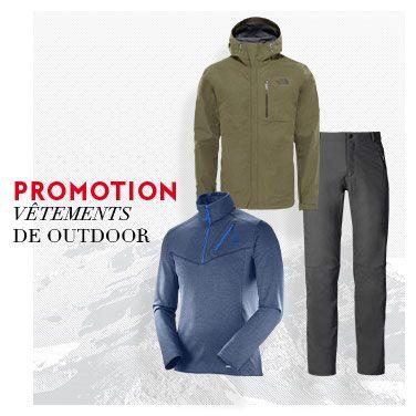 promo vêtements randonnée