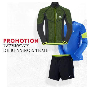 promo vêtements running