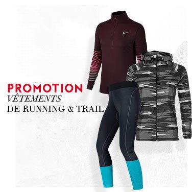 promo vêtements trail