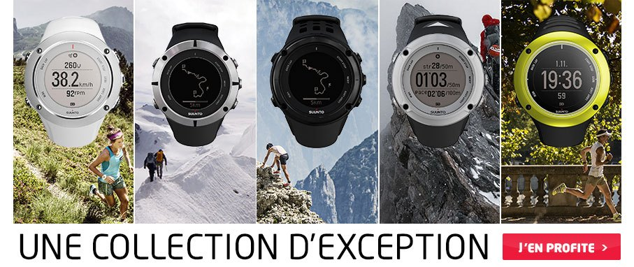 Suunto, une collection d'exception