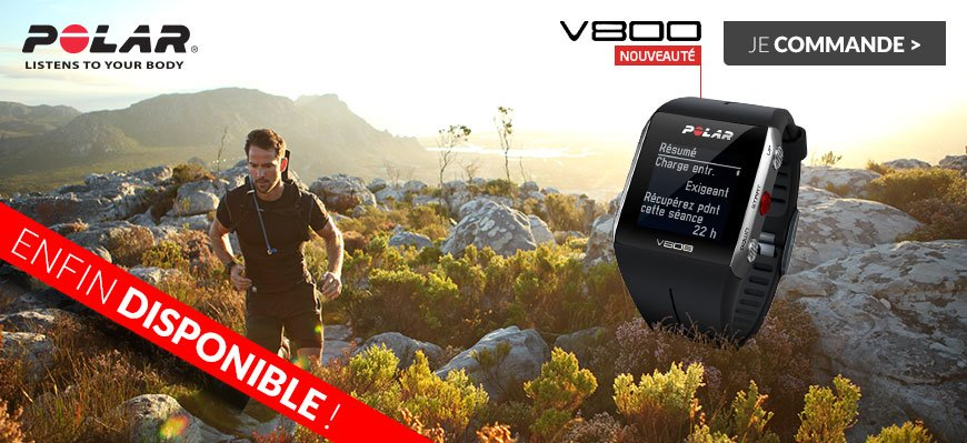 Montre multisport POLAR v800