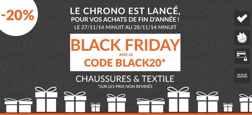 black friday code promo BLACK20