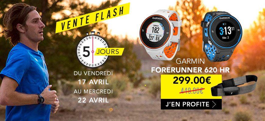 Garmin Forerunner 620 vente flash