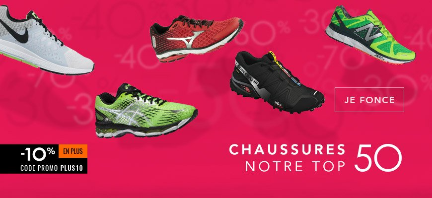 Soldes top50 chaussures