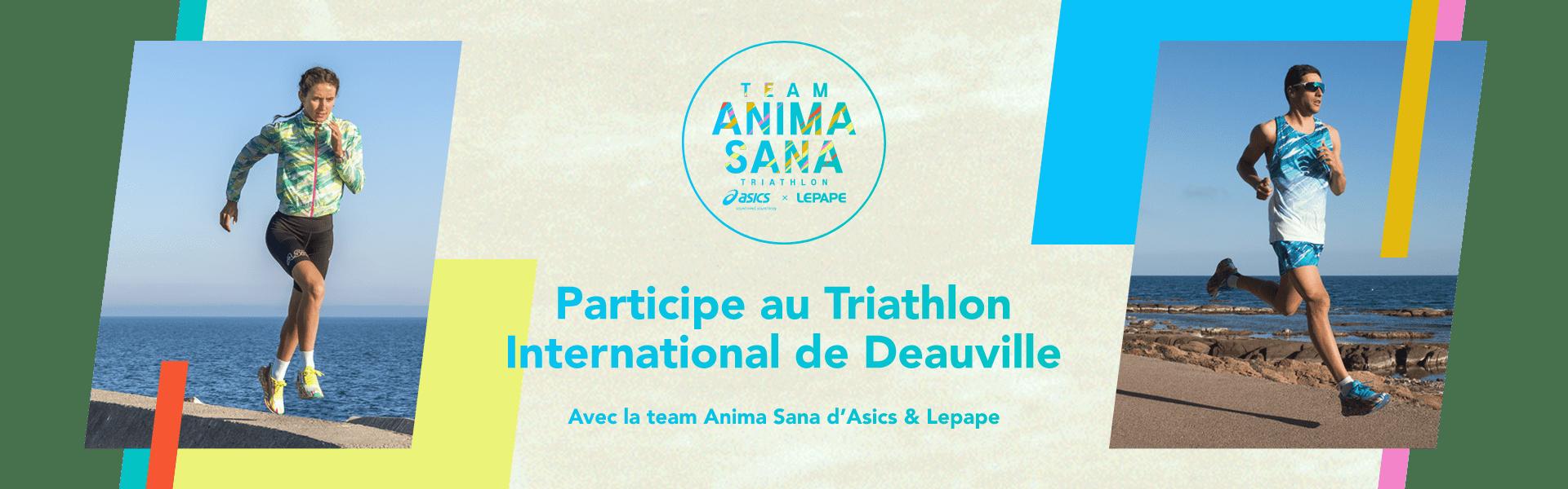 Participe au Triathlon International de Deauville